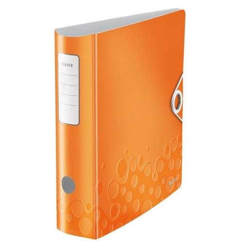 Ordner Active WOW orange metallic LEITZ 1106-00-44 8cm 180°