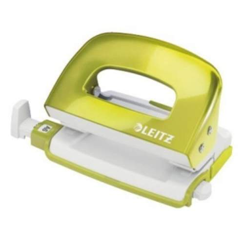 LEITZ NeXXt Series WOW Metal Mini Hole Punch 10 Blatt grün metallic Locher