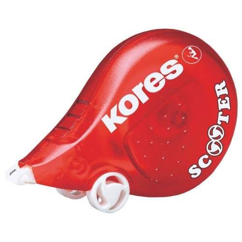 KORES Scooter Korrekturband, 4,2mm x 5m