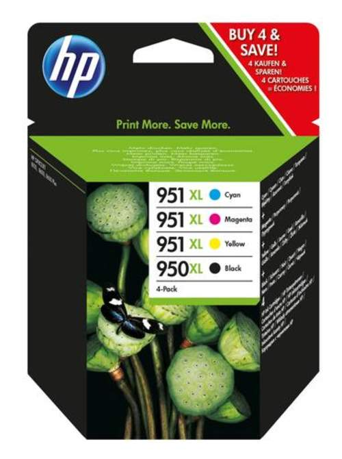 Original HP C2P43AE / 950XL/951XL Tinte schwarz, color