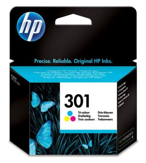 Original HP CH562EE / 301 Tinte color